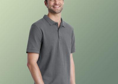 Uomo polo Premium Cotton doppio piquè