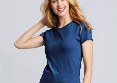 T-shirt donna Premium Cotton