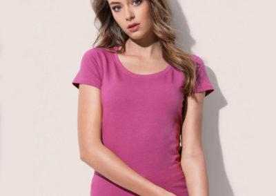 T-shirt donna girocollo Claire