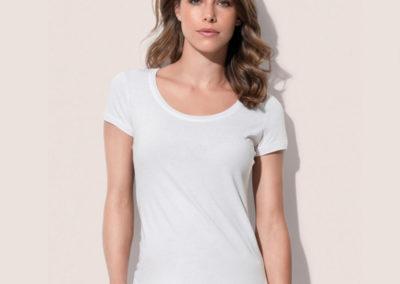 T-shirt donna girocollo Megan