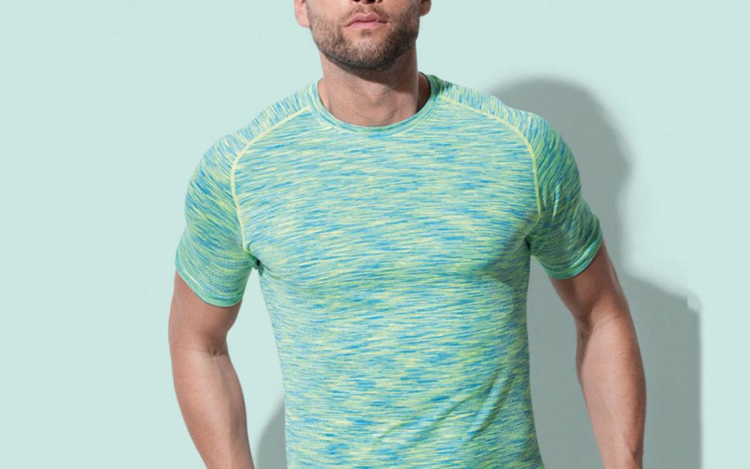 T-shirt uomo Raglan senza cuciture
