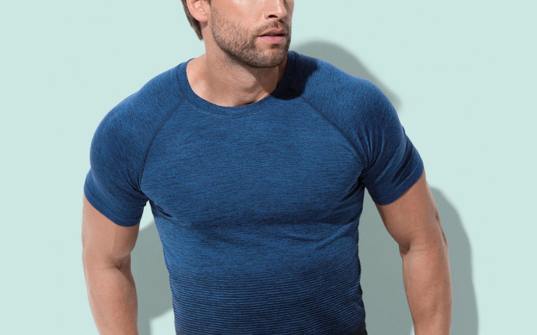 T-shirt uomo Seamless Raglan Flow