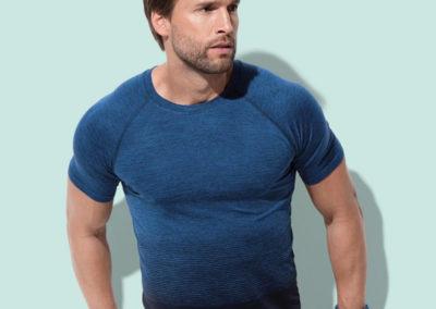 T-shirt uomo Seamless Raglan Flow